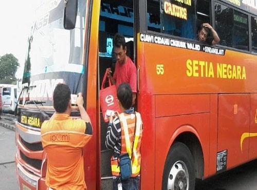 Tips untuk Pemudik yang Menggunakan Bus
