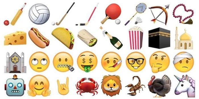 OS Baru iPhone Tampilkan Emoticon Kabah dan Unicorn