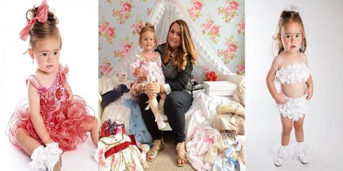 Anak Usia 2 Tahun Sudah Miliki Koleksi Mode Senilai Ratusan Juta