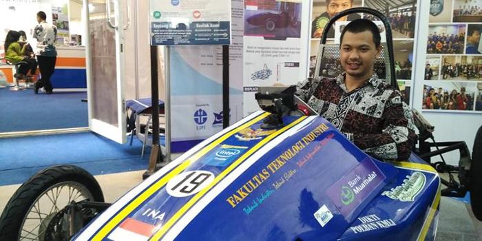 Mobil Bikinan Mahasiswa Yogya Ini Bisa Jadi Kendaraan Masa Depan