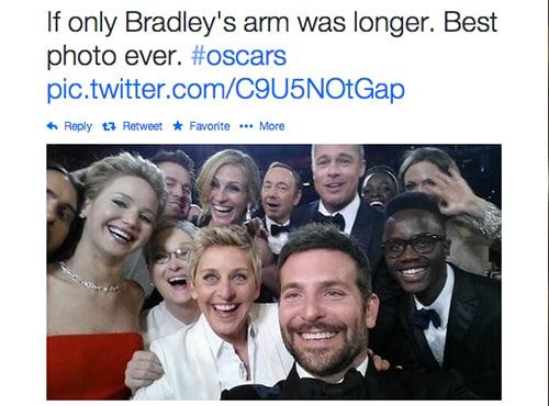 7 Tips Foto Group Selfie Yang Bisa Dipelajari Dari The World's Most Retweeted Photo