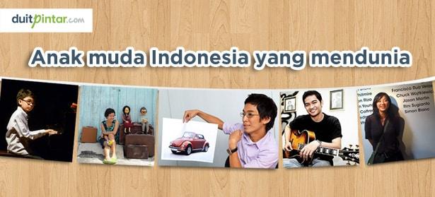 5 Anak Muda Indonesia yang Mendunia dengan Prestasi Tak Terkira