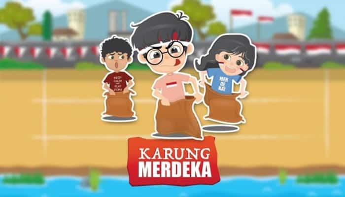Aplikasi permainan Balap Karung yang Indonesia banget !