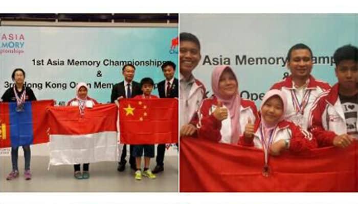 Indonesia Juarai Kompetisi Mengingat Tingkat Internasional