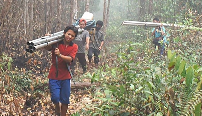 Kisah Perjuangan Relawan Asap yang 'Tak Terdengar' di Tengah Keributan Netizen dan Pemerintah