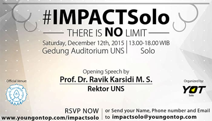 "#IMPACTSolo  ""There Is NO Limit"""