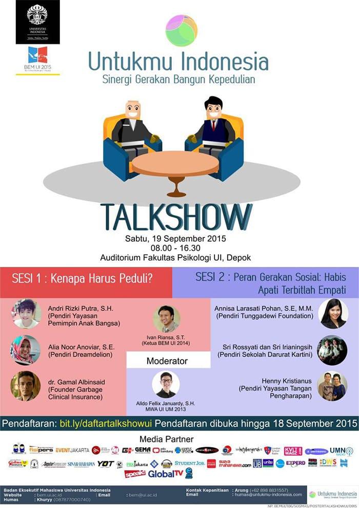 Materi Untuk Web : Main Event Untukmu Indonesia