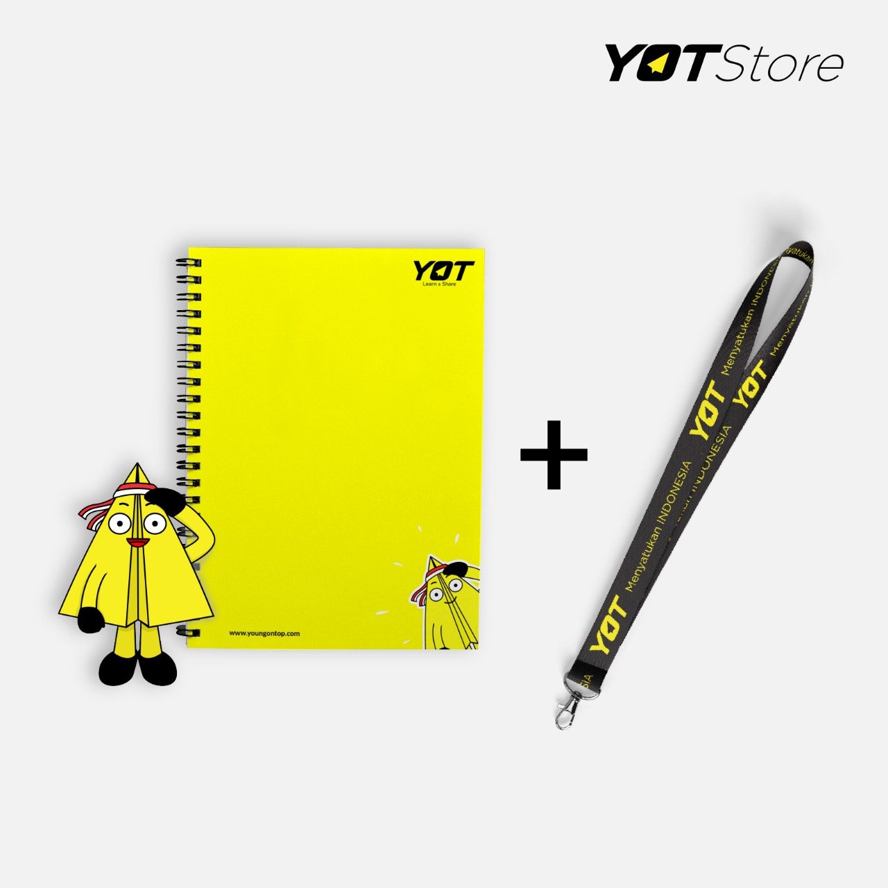 Notes dan Lanyard YOT Young On Top