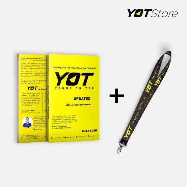 Buku YOT Updated 40 Kunci Sukses Usia Muda+ Lanyard Young On Top YOT