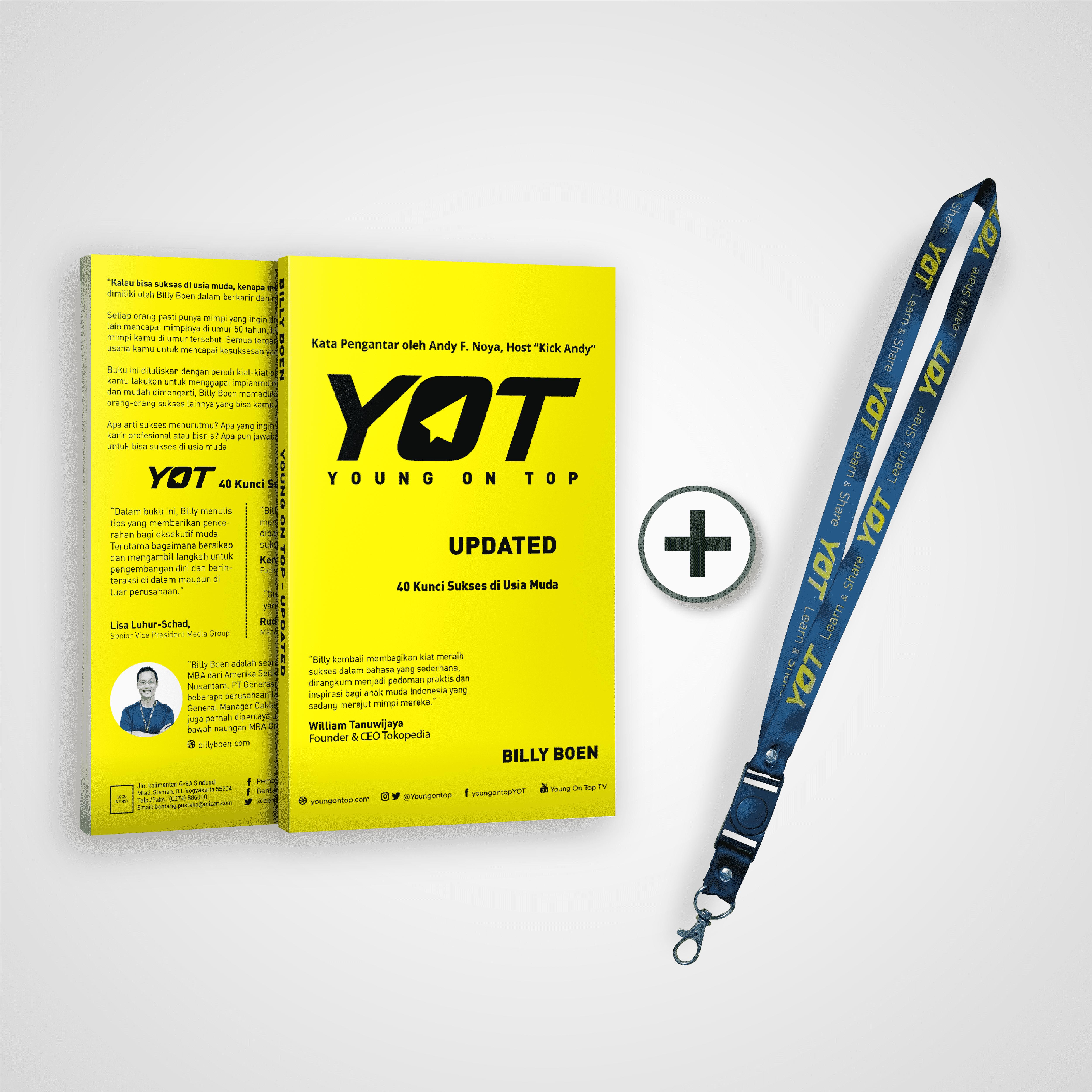 YOT Update + Lanyard