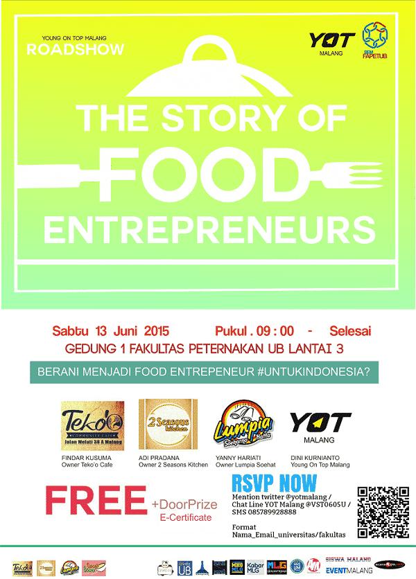 Storys of food entrepreneur