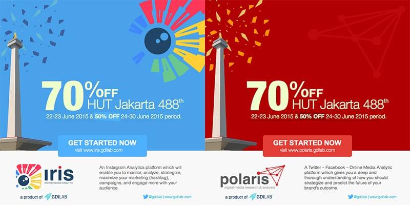 Sambut Ulang Tahun Jakarta