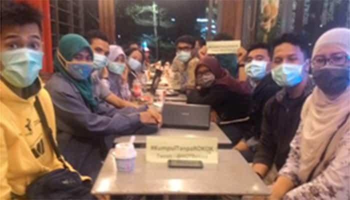 #KumpulTanpaRokok : YOTBekasi mau udara bersih