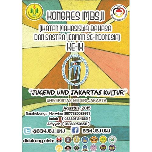 IMBSJI (Ikatan Mahasiswa Bahasa dan Sastra Jerman Indonesia)