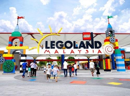 Ada Tanah Lot di Legoland Malaysia