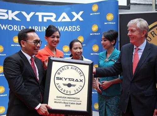 Garuda Indonesia Mendapat Gelar Awak Kabin Terbaik Dunia!