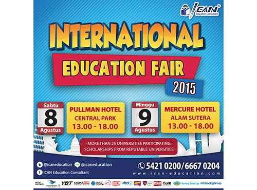 International Edufair Siap Mewadahi Hasrat Pendidikan Masyarakat