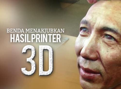 7 Benda Keren yang Bisa Diciptakan Lewat Printer 3 Dimensi