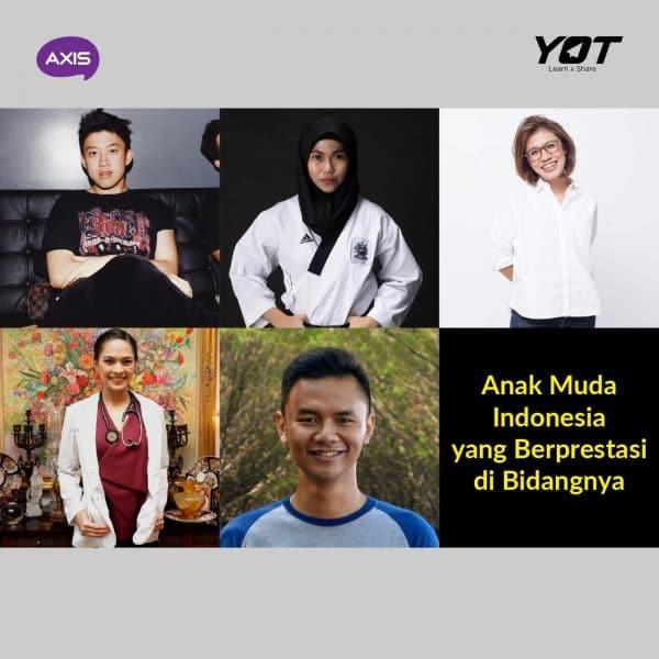 Anak Muda Indonesia yang Berprestasi di Bidangnya
