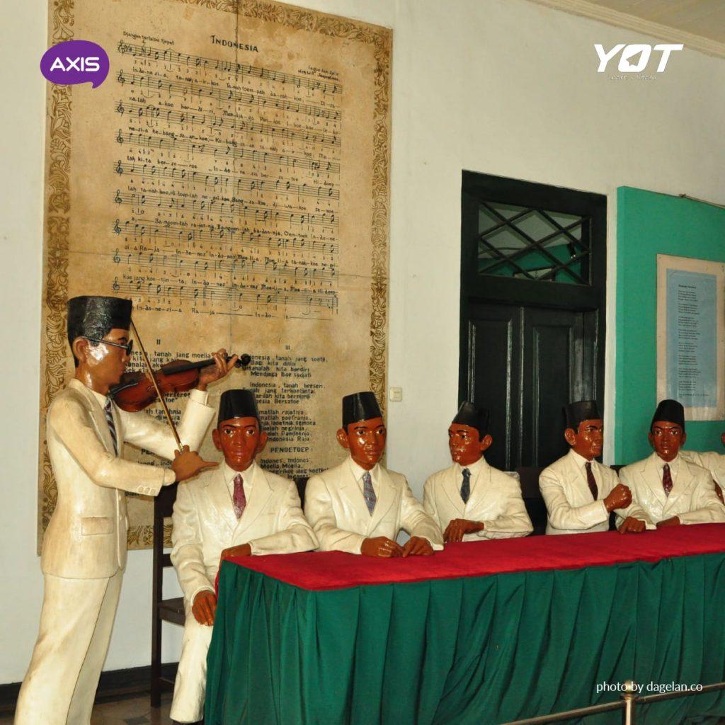 Gambar Monumen Sumpah Pemuda Museum Sumpah Pemuda Saksi Sejarah Pergerakan Pemuda Indonesia Young On Top