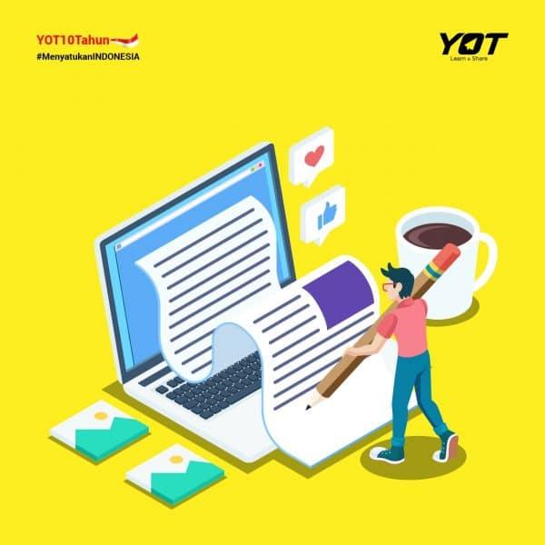 Tips Sukses Ikutan YOT Writing Competition