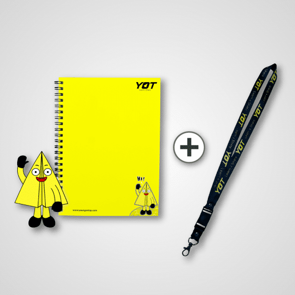 NOTES YOTIE + LANYARD