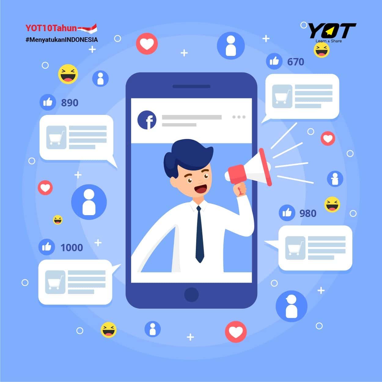 Manfaatkan Media Sosial untuk Mengembangkan Bisnis | Young On Top