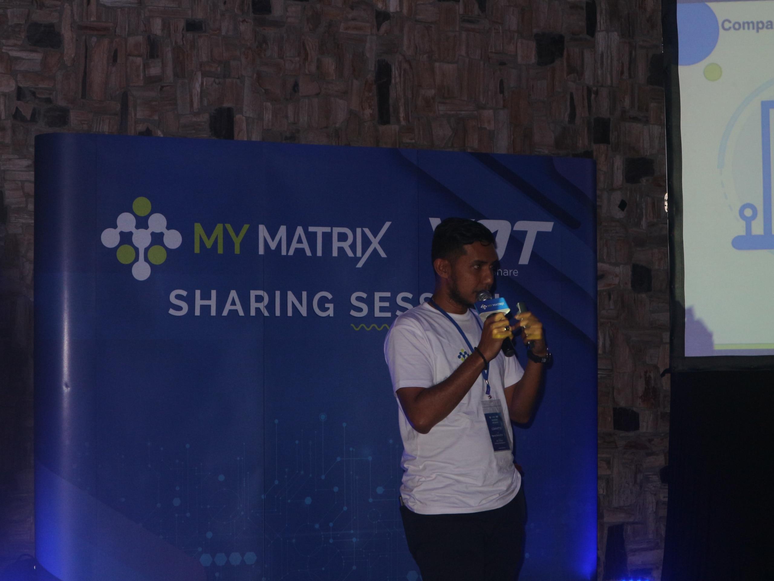 Agung Mahardika, Assisten Manager Business Development My Matrix