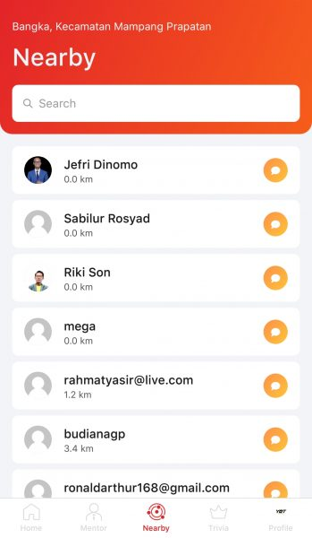 SocialConnext Nearby