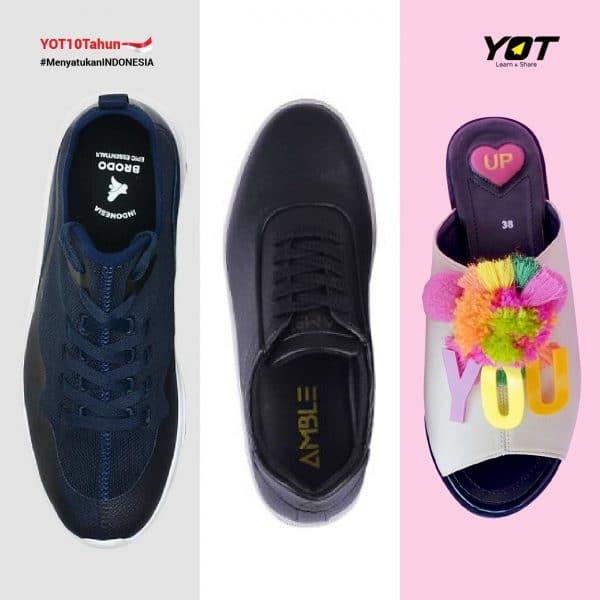 Brand Sepatu Lokal yang Berhasil Go Internasional