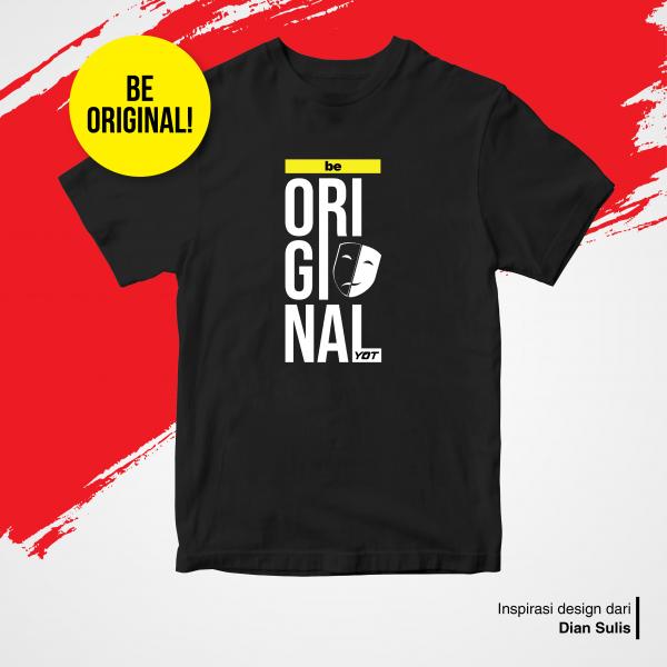 Kaos Be Original - YOT Store