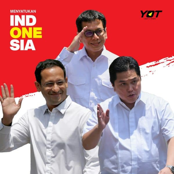 Kenalan Sama Tiga Menteri yang Mencuri Perhatian Publik