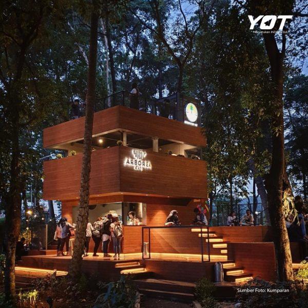 Menikmati Sensasi Ngopi di Tengah Hutan Jakarta