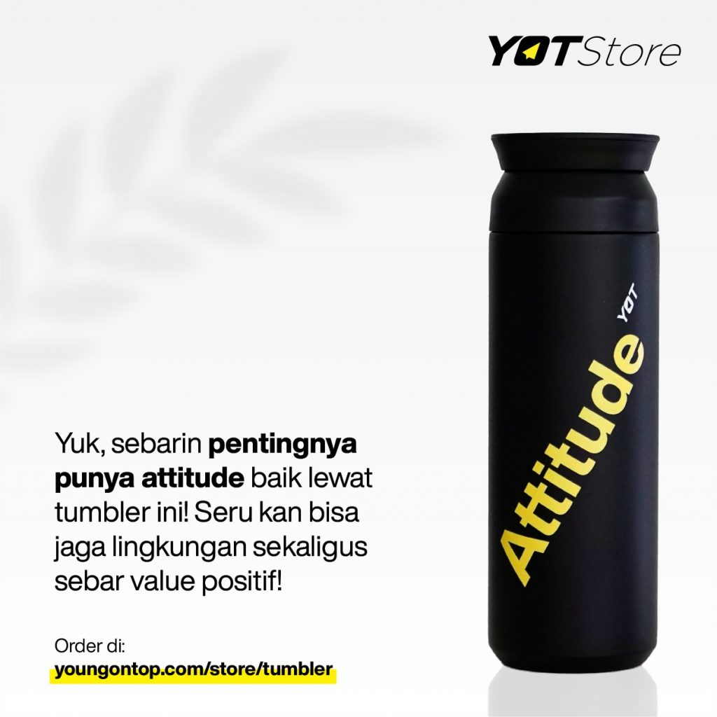 New Tumbler Young On Top YOT Store Attitude