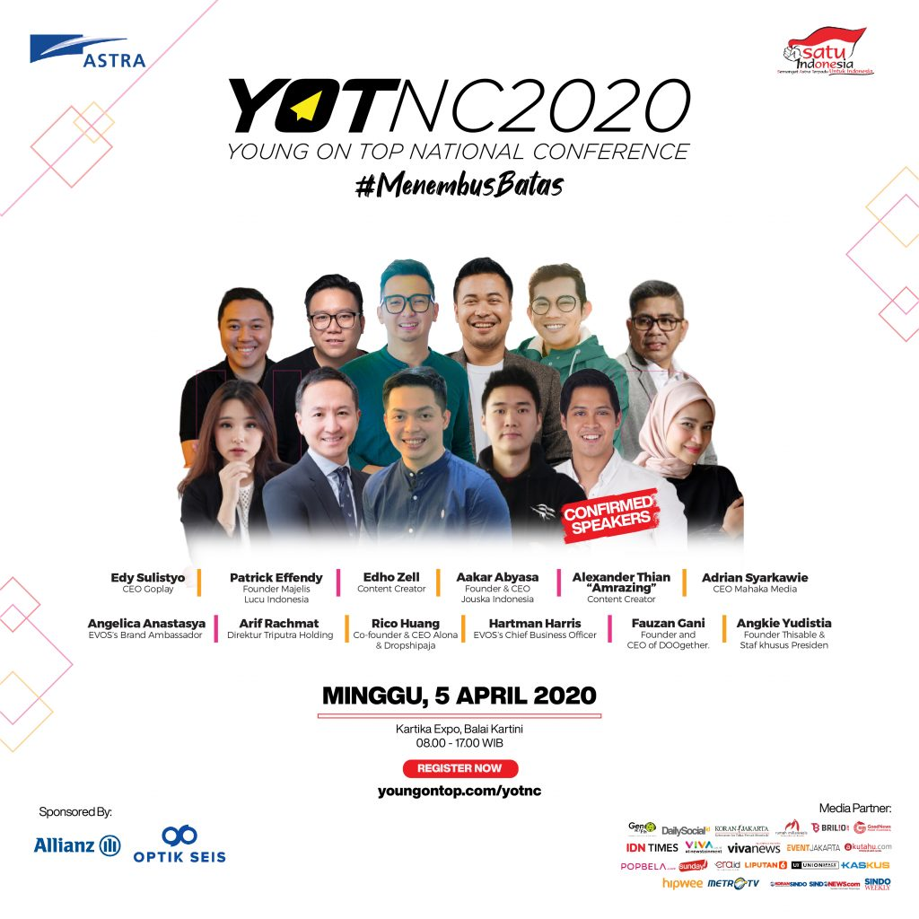Young On Top National Conference - YOTNC 2020