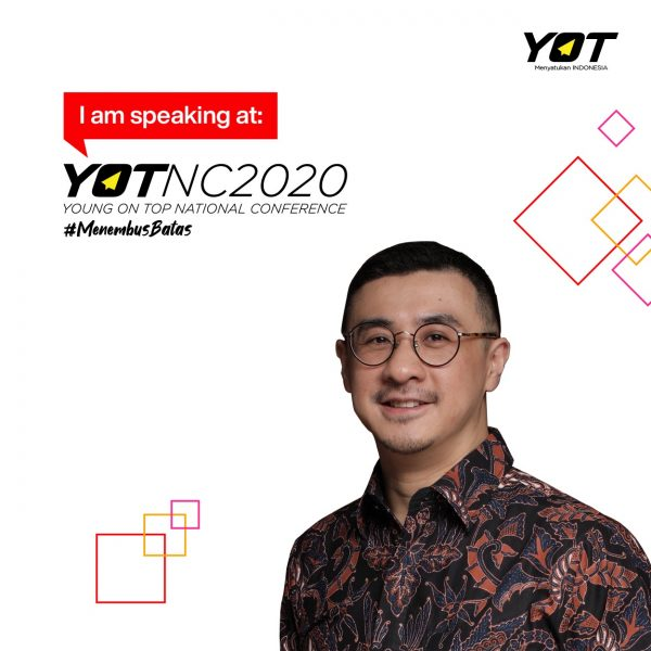 Contek Cara Sukses Axton Salim, Pemimpin Bisnis Indofood young on top national conference 2020