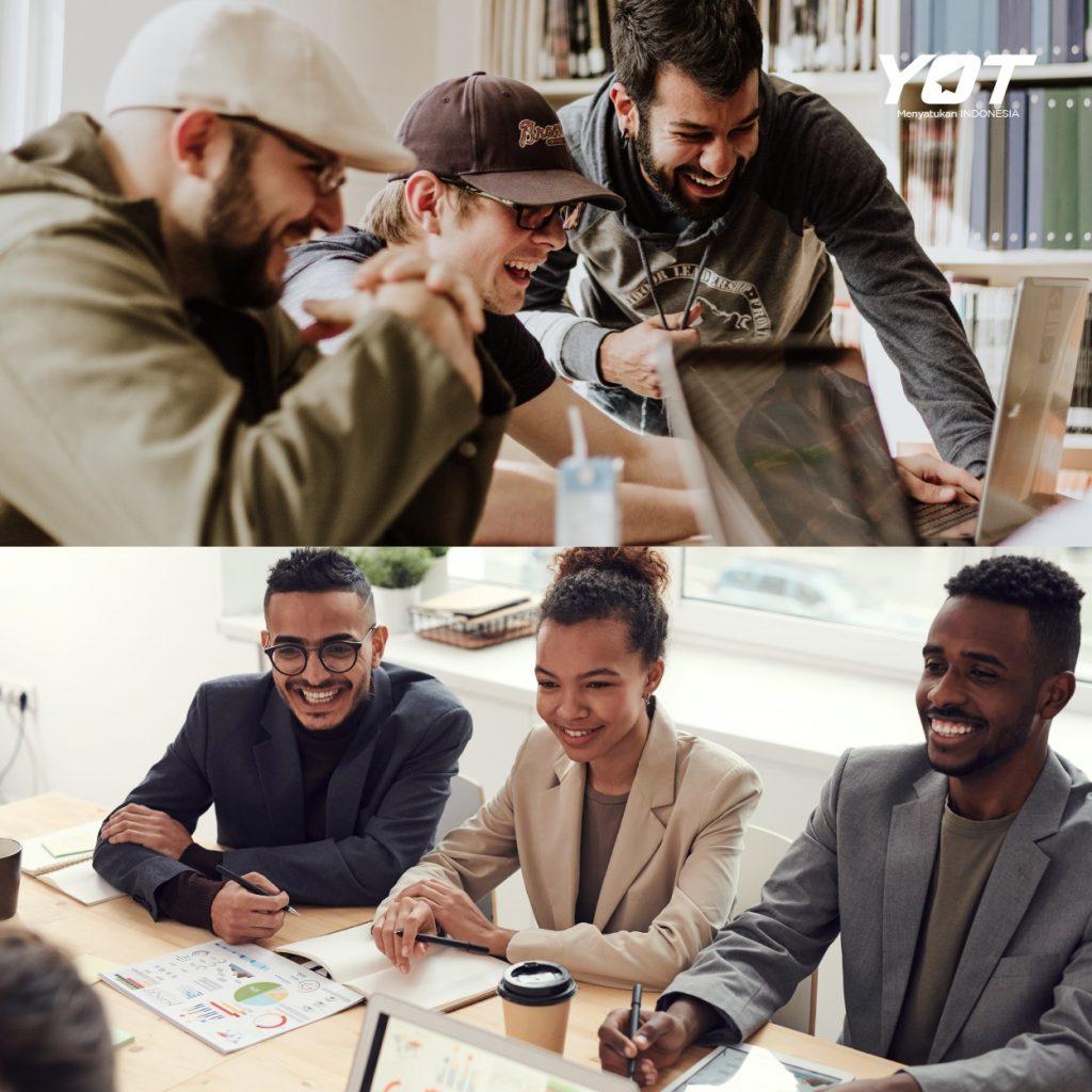 Kerja di Korporasi VS Startup, Mana yang Paling Baik young on top