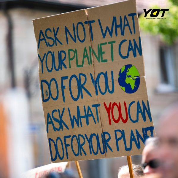 5 Langkah Kecil yang Harus Kita Lakukan untuk Selamatkan Bumi - young on top